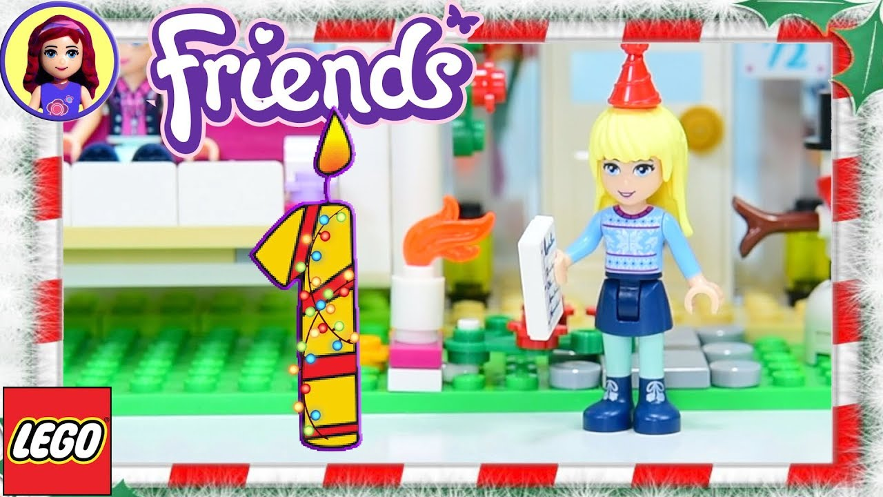 day 1 lego friends advent calendar 2017 build silly play. Black Bedroom Furniture Sets. Home Design Ideas