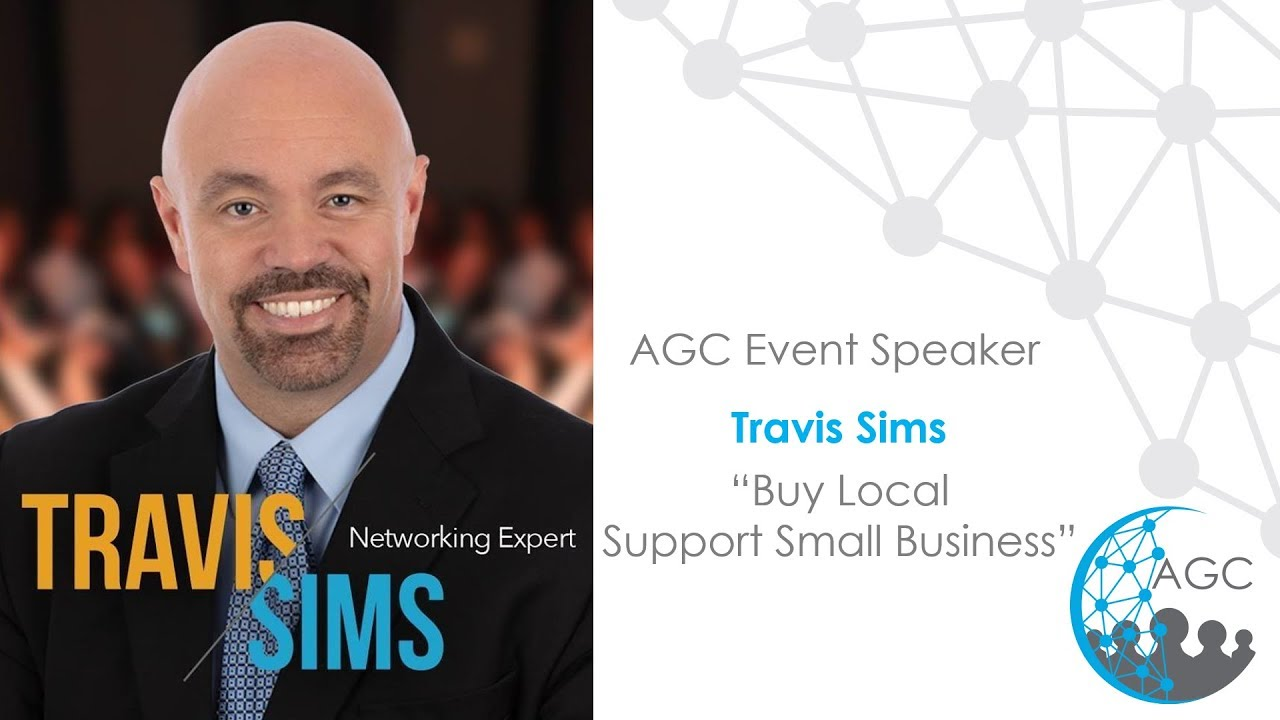 Travis Sims Buy Local, Support Small Business AGC Minneapolis July 2019