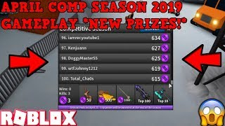 FRAGGING OUT IN APRIL COMP! (ROBLOX ASSASSIN NEW COMP SEASON GAMEPLAY) *NEW PRIZES*