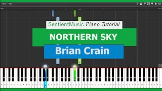 "Brian Crain - ""Piano Lessons"" NORTHERN SKY - Piano Tutorial HD"