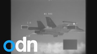 NATO fighter jets intercept Russian military aircraft