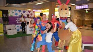 Elabika mascot costumes Giraffe brand mascots Gallery Rainbow animal mascot costumes