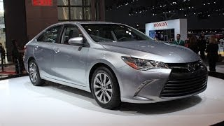 2015 Toyota Camry Preview: 2014 New York Auto Show