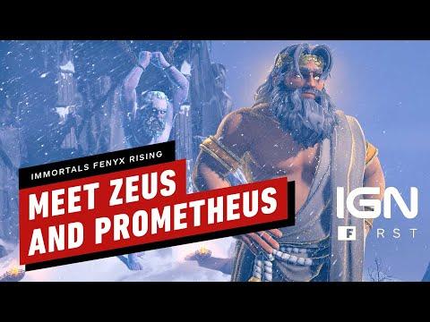 Immortals Fenyx Rising: Meet Zeus and Prometheus - IGN First