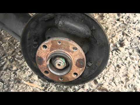 Обзор замены задних тормозных колодок ВАЗ 2110-2112