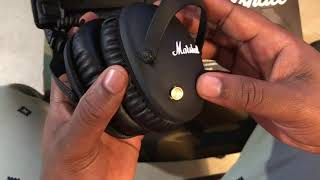 Marshall Monitor II ANC Headphones Unboxing