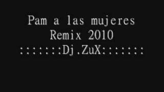 Pam a las mujeres Remix 2010- Dj ZuX -Mixeo 2010.wmv