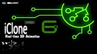 Анимация в iClone 6.  часть 2.