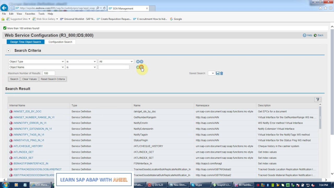 Tutorial 4 - Create SAP Webservice Which returns data in table form
