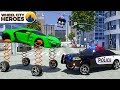 Police Car Sergeant Lucas Cathing Car With Spring Wheels Wheel City Heroes WCH New 3D Cartoon mp3