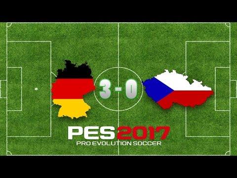 Pro Evolution Soccer 2017 / Deutschland gegen Tschechien