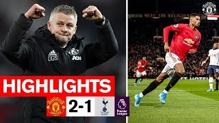 Highlights  Manchester United 2-1 Tottenham  Premier League