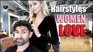 6 Hairstyles Women LOVE On A Guy! (Attractive Men's Hairstyles)