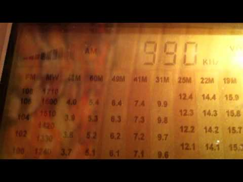 990 KHz Radio Sawa (Cyprus) arabic language, directional to North Africa