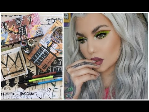 UD x Jean-Michel Basquiat Collection - Swatches and Tutorial