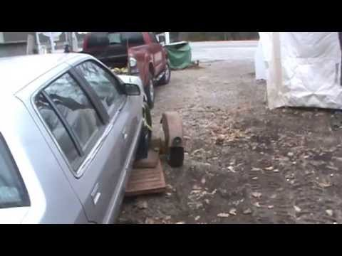 how to back up a car dolly