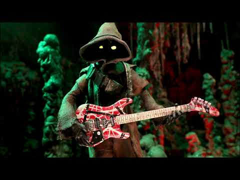 JAWA PLAYS ERUPTION: A Stop Motion Tribute to the Great Edward Van Halen.