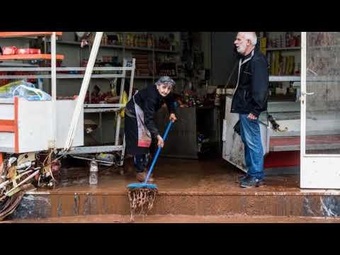 Athens flash floods: 16 dead as rain wreaks havoc on Greek capital