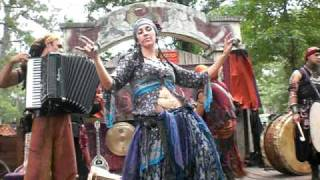 "Gypsy Woman dances and floats for ""Wine & Alchemy"""