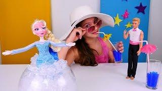 Кукла Эльза и Полен - играем с принцессами Дисней