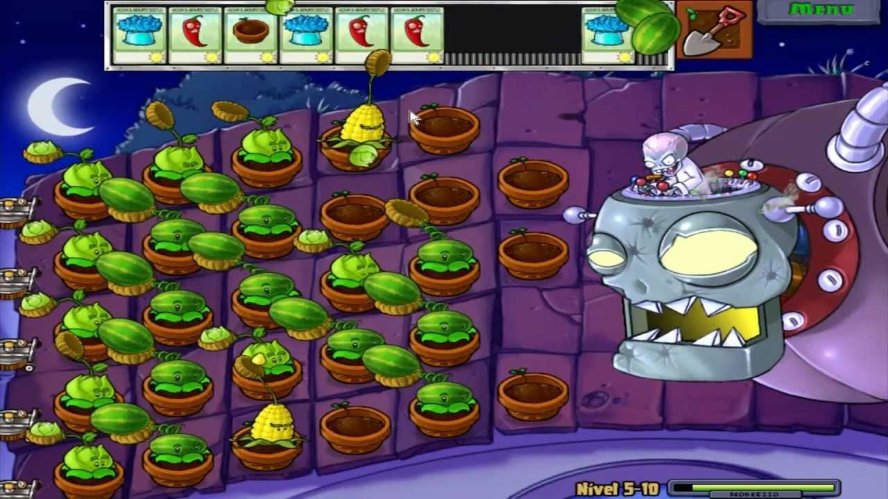 vamos jogar plants vs zombies matando o chefe música legendada