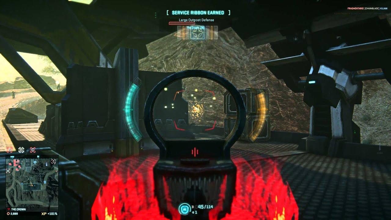 planetside 2 gameplay epic crown zerg defense youtube