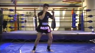 Уроки тайского бокса от профессионала часть 1. Mechanics of Thailands Muay Thai Part 1