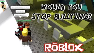 Would You Stop Bullying? (ft. IceIsSpy) - ROBLOX Social Experiment