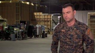 """The 5th Wave """"Colonel Vosch"""" On-Set Interview - Liev Schreiber"""