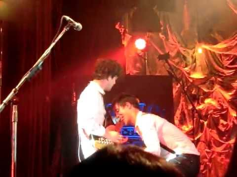Brendon & Ian Guitar Licking - Panic! At The Disco Ybor City, FL 10/23/11