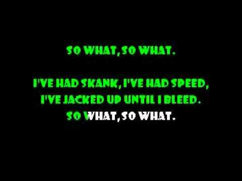 So What - Metallica karaoke
