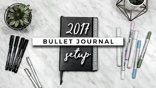 One of AmandaRachLee's most viewed videos: My Bullet Journal Setup 2017