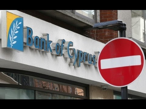 Cyprus Will Seize Money from People's Bank Accounts