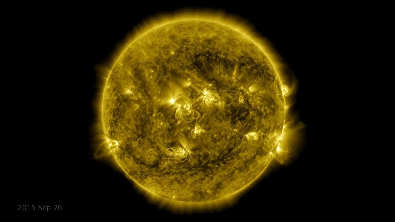 Watch: 10-year timelapse of the sun - The Telegraph