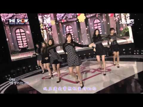 【HD繁體中字】 141125  A Pink -  LUV @ MTV The Show
