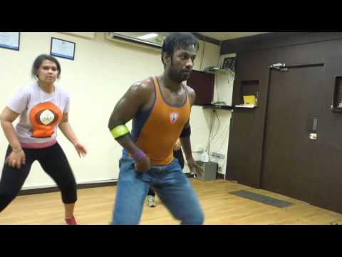 1 2 3 4 Get on the dance floor…..by rocking Shiv @ Zumba with Preeti