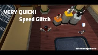 HOW TO DO TWO TYPES OF SPEED GLITCHES! | Roblox Flood Escape 2