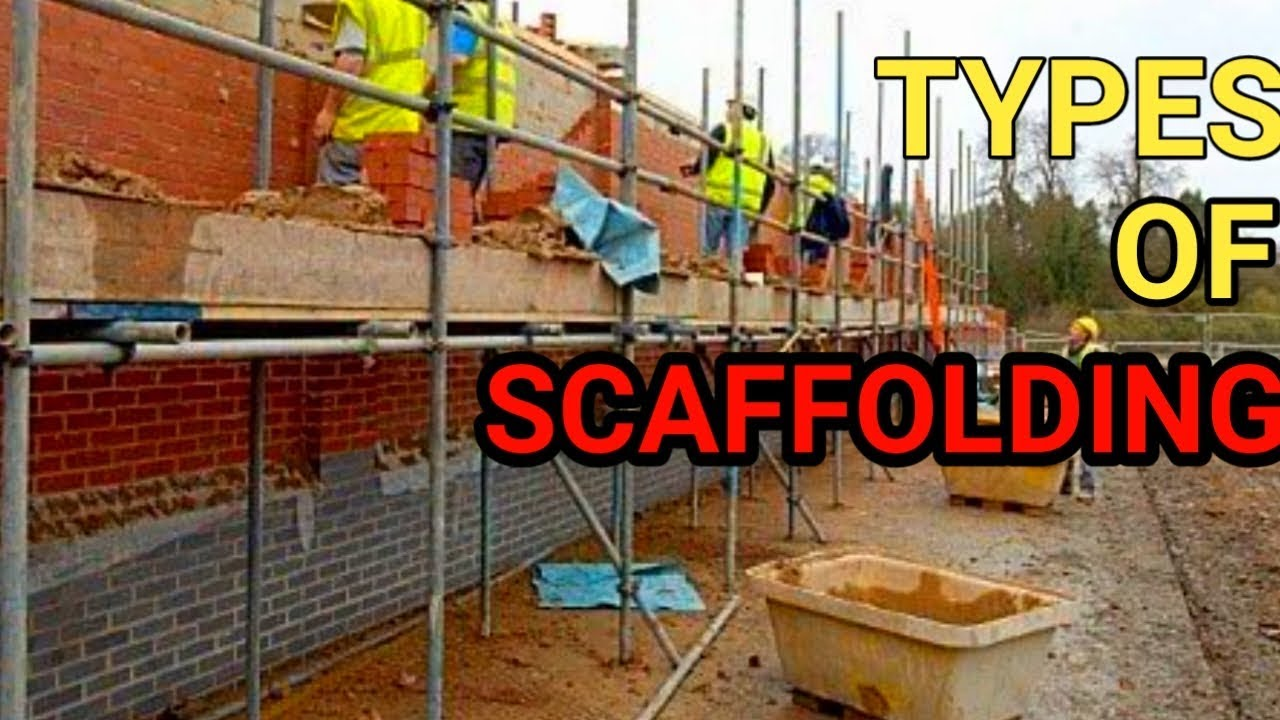 TYPES OF SCAFFOLDING IN HINDI   SCAFFOLDING TYPES - YouTube