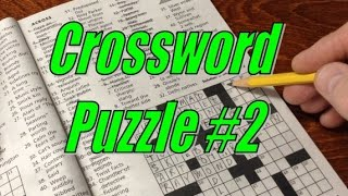 Crossword Puzzle 2 - Sleep Whisper