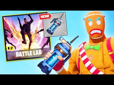 Breaking BATTLE LAB MODE In Fortnite