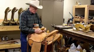 Leather: Wade Saddle - Cowboy Saddle Bucking Rolls - Handmade Wade Saddles - Saddle Shop