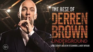 Derren Brown: Underground 2018 Tour Trailer