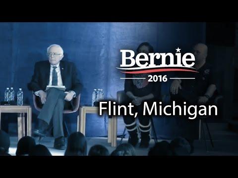 Bernie Sanders @ Flint, Michigan (Feb 25) *Recorded Livestream*