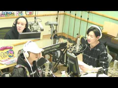 170403 Youngjae + BamBam (GOT7) - Lee Hongki's Kiss the Radio