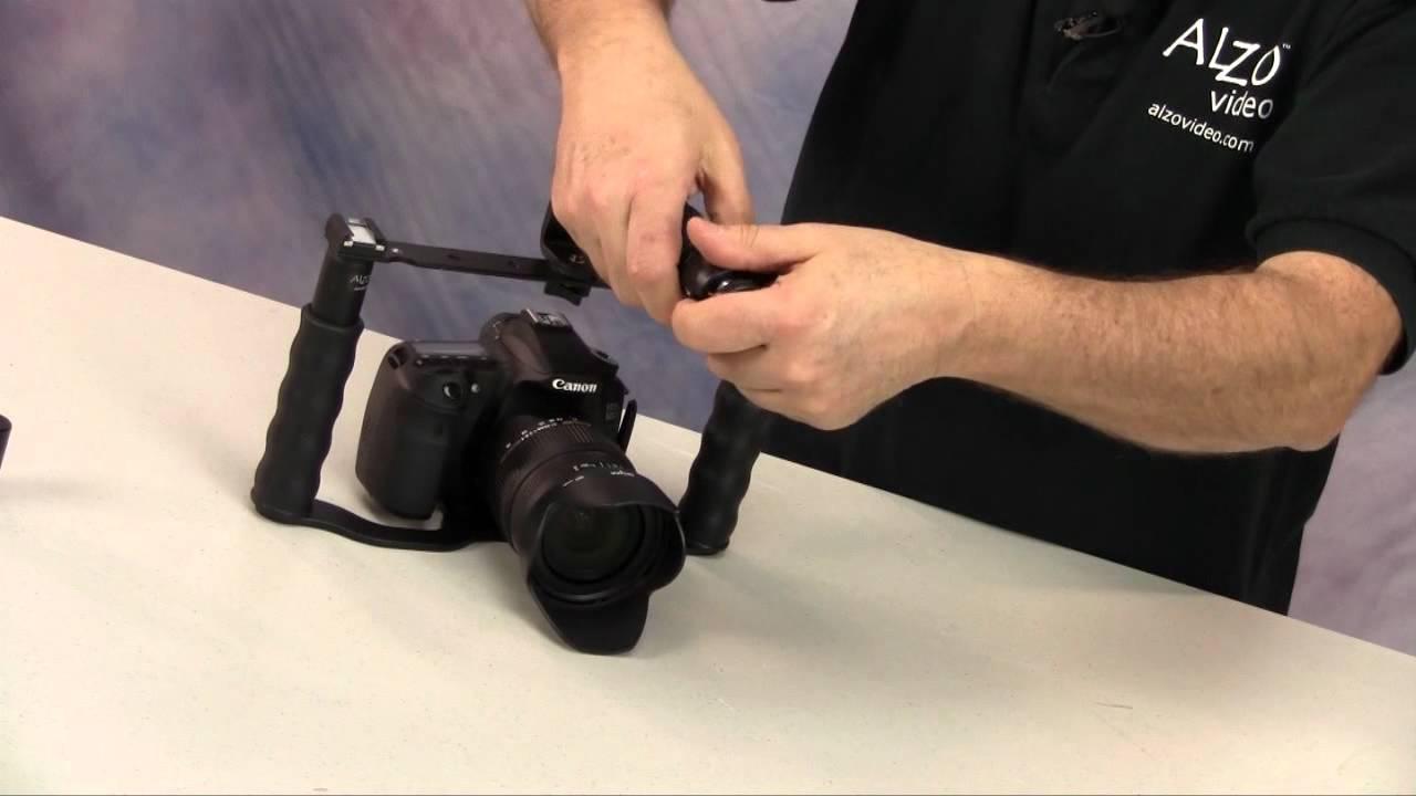 Pro Video Stabilizing Handle Grip for Sony Cyber-Shot DSC-W200 Vertical Shoe Mount Stabilizer Handle