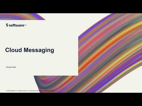 Cloud Messaging | webMethods.io Integration Tutorials