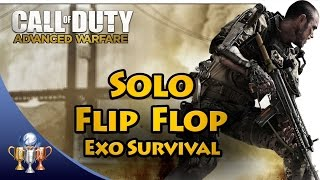 Call of Duty Advanced Warfare - How to Flip Flop and Solo Exo Survival to Wave 50+