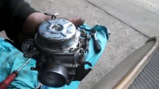 видео Устройство карбюратора 4-х тактного скутера.