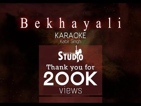 Kabir Singh: Bekhayali (Karaoke)
