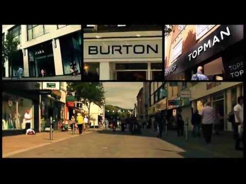 Swansea City Centre Shopping